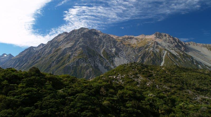Mount Cook Range Royalty Free Stock Image