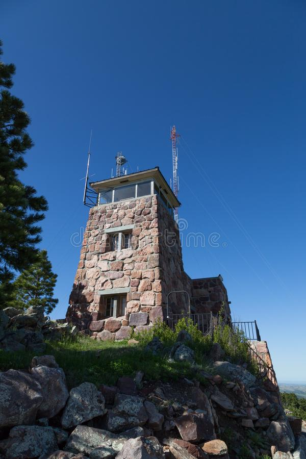 Mount Coolidge Fire Lookout royalty free stock photo