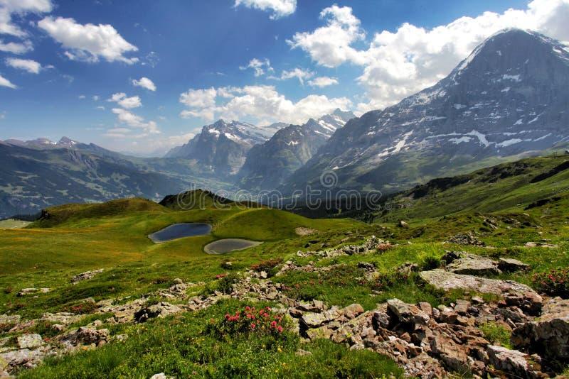 Mount Eiger Switzerland stock image