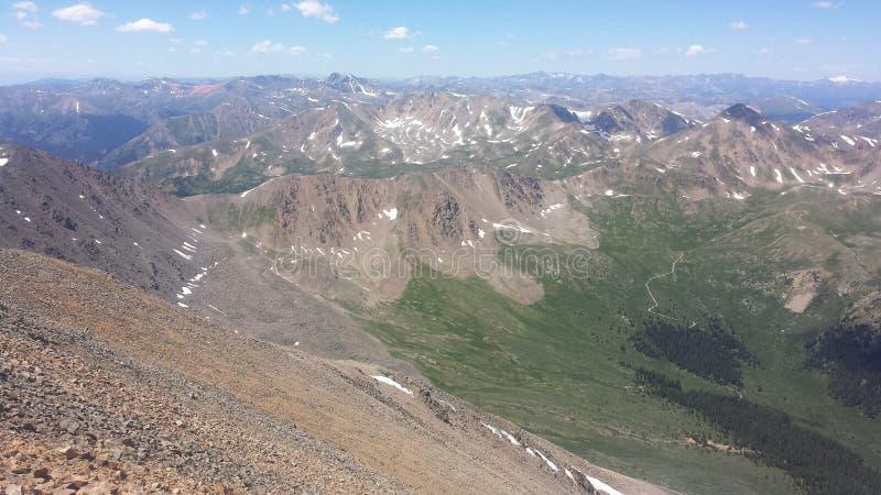 Mount Elbert View royalty free stock photo