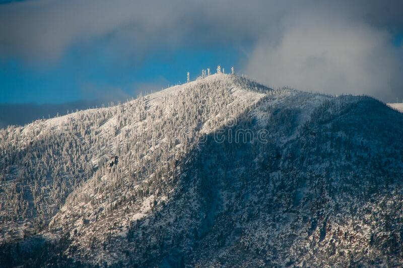 Mount Elden stock photo