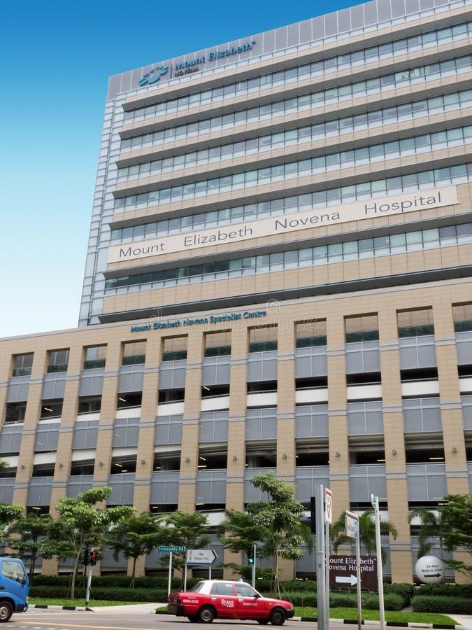 Download Mount Elizabeth Novena Hospital Building Editorial Photography - Image: 31167792