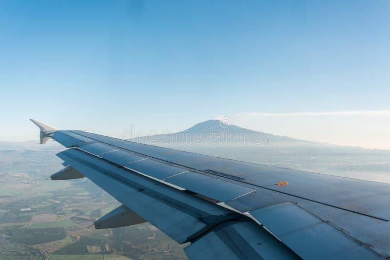 Mount Etna Landscape in Sicily, Italy. Mount Etna Landscape in Spring in Sicily, Italy royalty free stock images