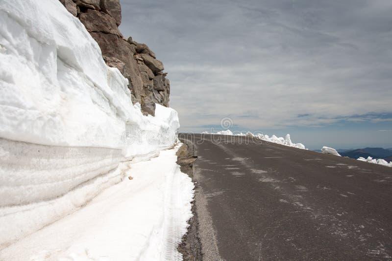 Mount Evans Scenic Byway stock foto's