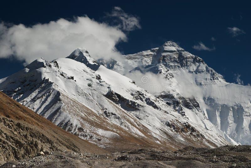 Mount Everest stockfotografie