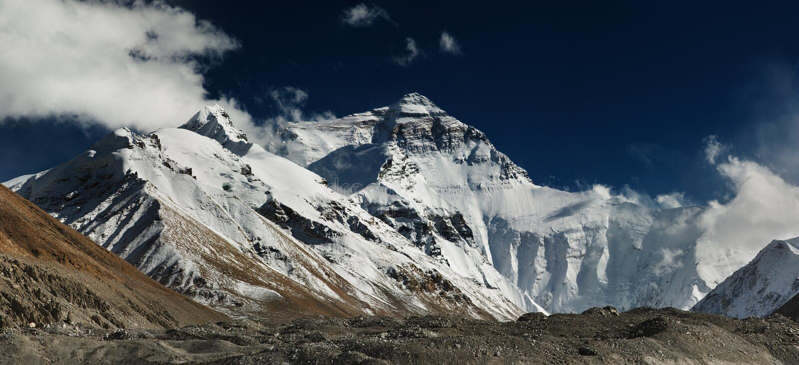 Mount Everest stockbilder