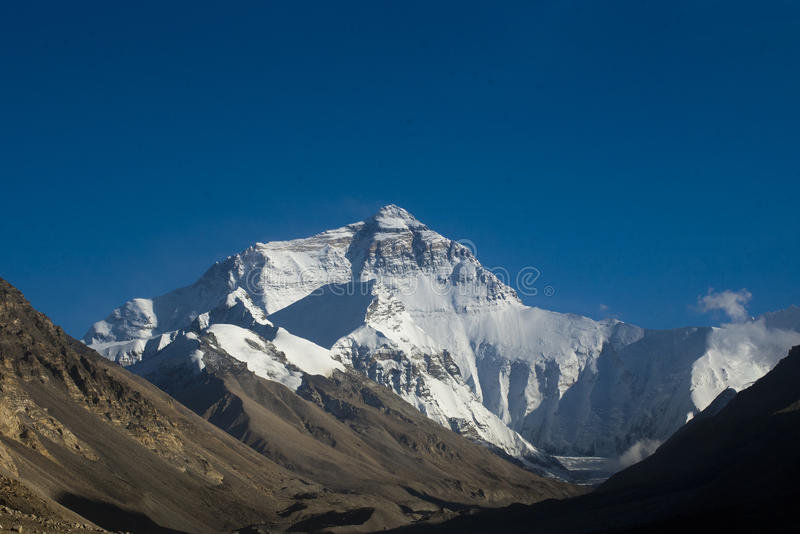 Mount Everest arkivfoto