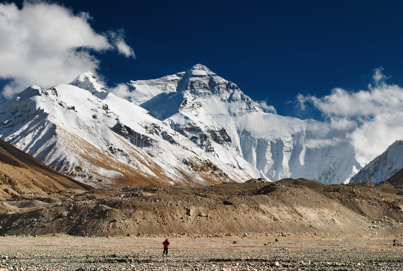 Mount Everest royalty free stock image