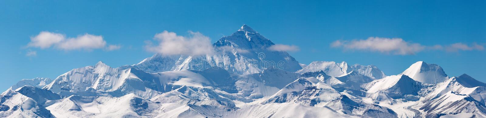 Mount Everest stock images