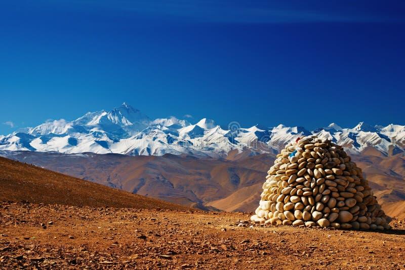 Mount Everest stockbild