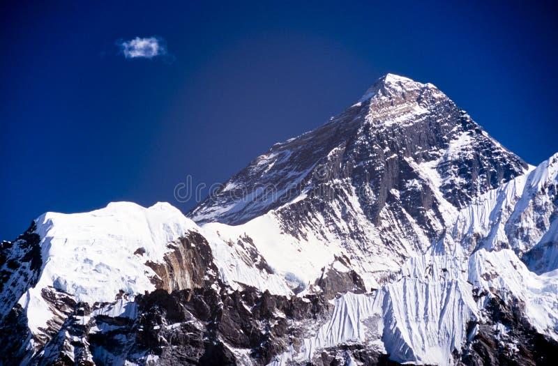 Mt Everest royaltyfria bilder