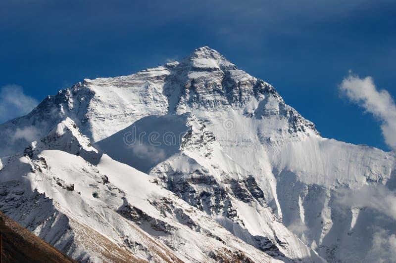 Mount Everest, Nordgesicht lizenzfreies stockfoto