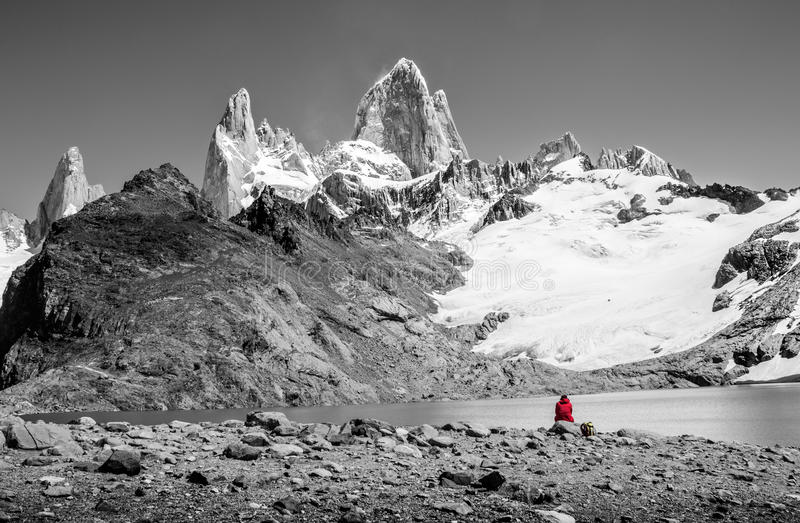 Mount Fitz Roy royalty free stock photography