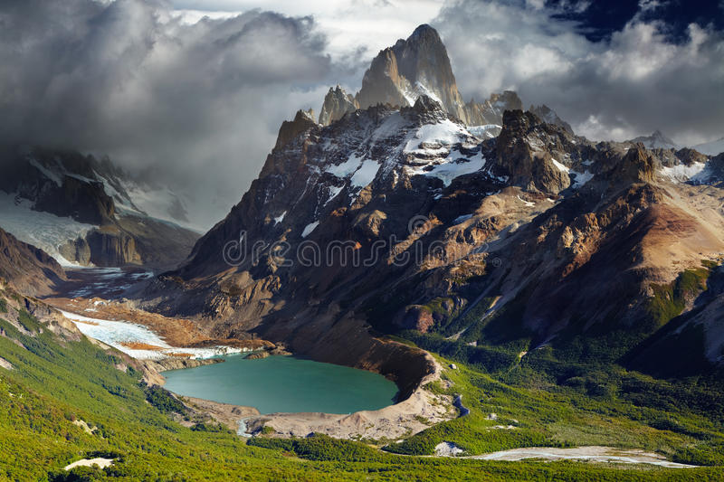 Download Mount Fitz Roy, Patagonia, Argentina Stock Photo - Image: 24805584