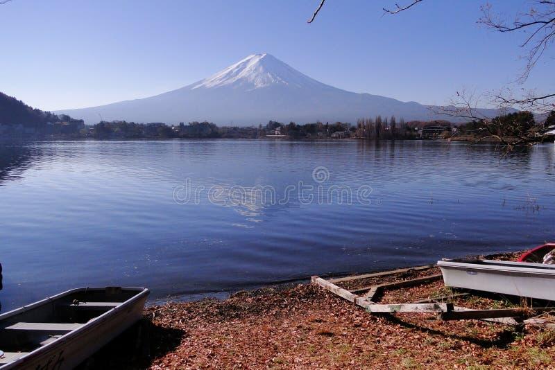 Mount Fuji - иконическое Японии стоковое изображение rf
