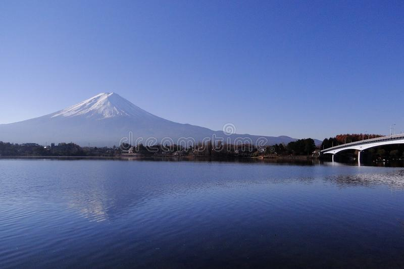 Mount Fuji - иконическое Японии стоковые фото