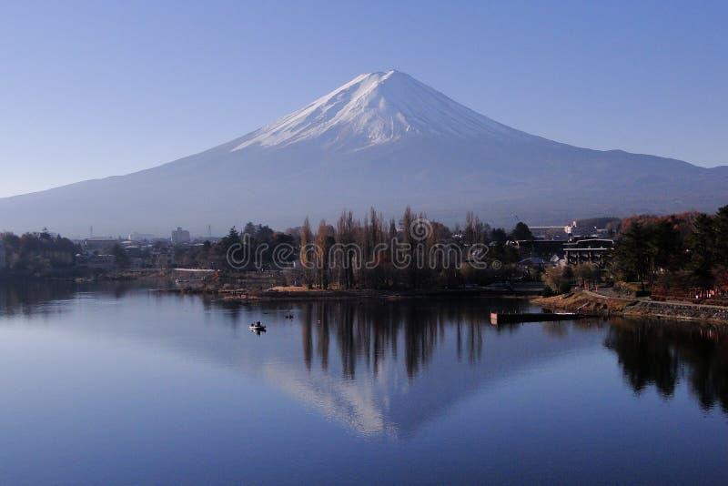 Mount Fuji - иконическое Японии стоковые изображения