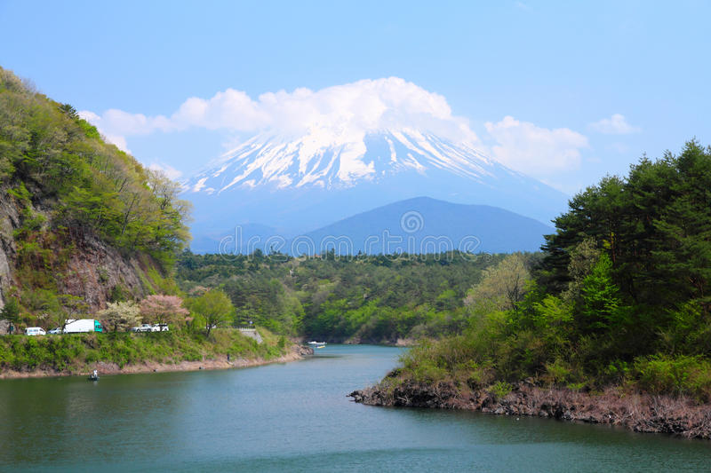 Download Mount Fuji stock image. Image of sightseeing, famous - 25065211