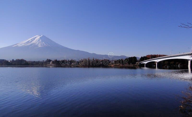 Mount Fuji - ett iconic av Japan arkivfoto