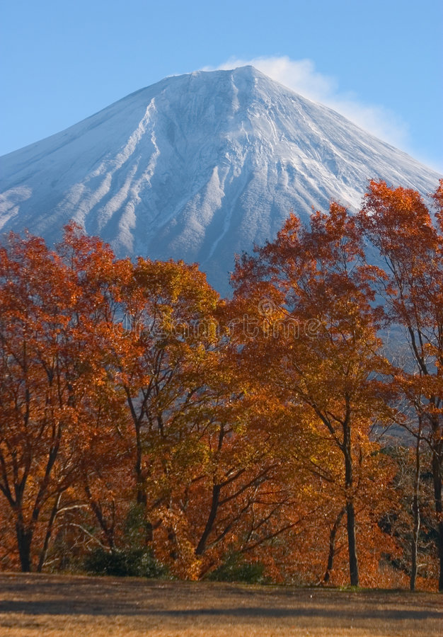 Download Mount Fuji in Fall stock photo. Image of travel, places - 506426