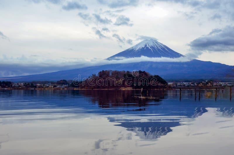 Mount Fuji or Fujisan stock photography