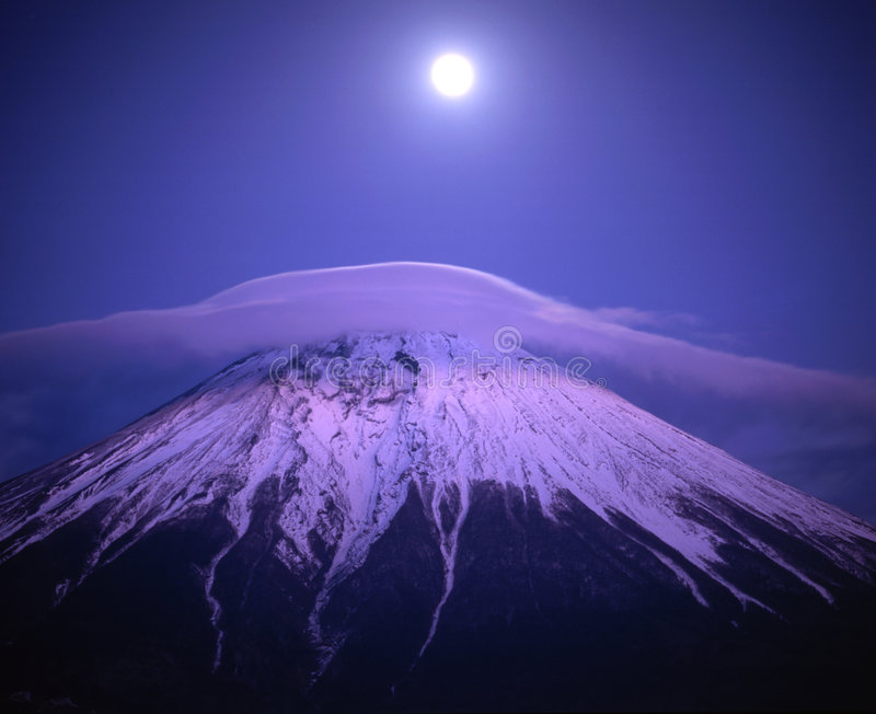 Mount Fuji III royalty free stock images