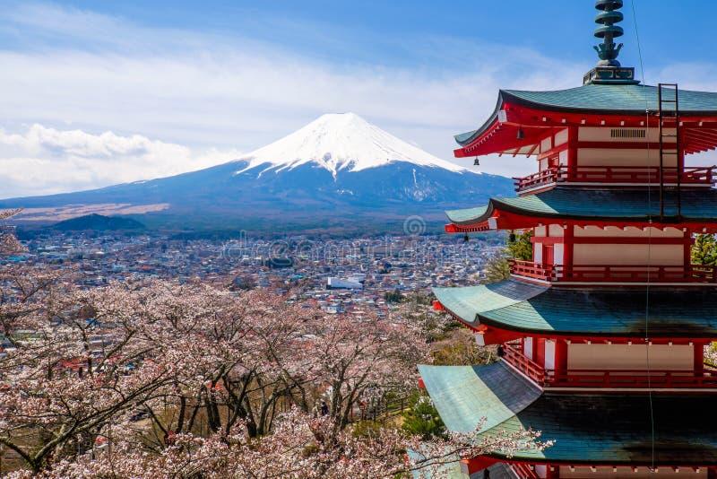 The mount Fuji, Japan royalty free stock photos