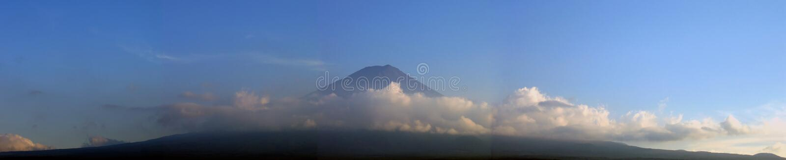 Download Mount Fuji Surrounded By Clouds - Panorama Stock Image - Image: 15119
