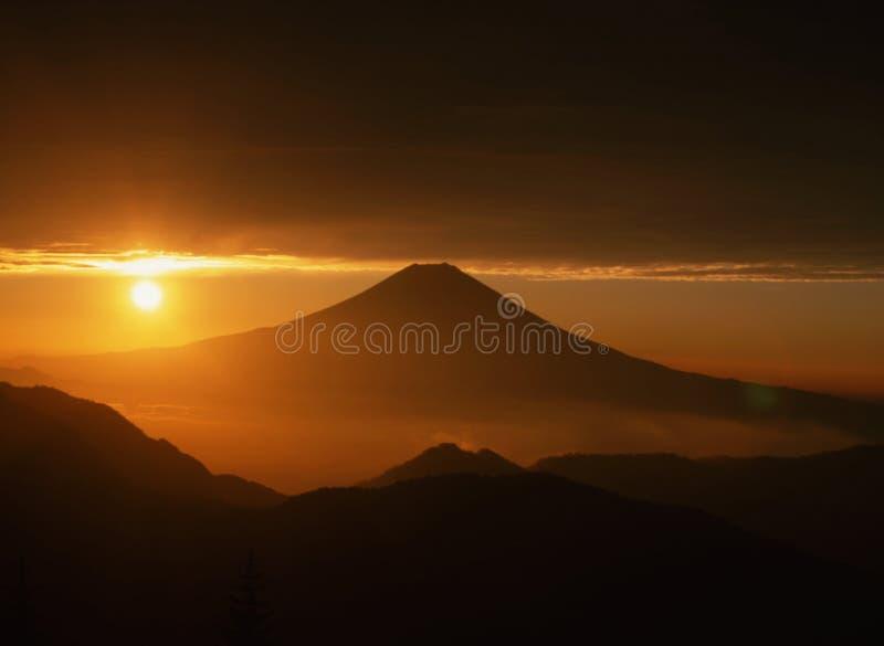 Mount Fuji XIII stock images