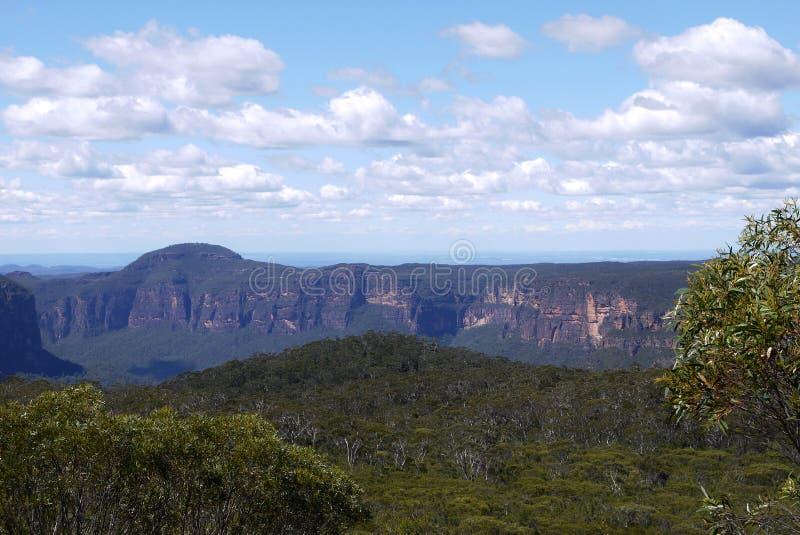 Australia: Blue Mountains landscape - h stock image