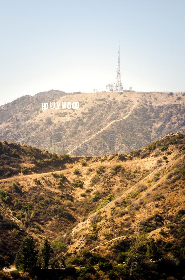 Mount Hollywood, Los Angeles royalty free stock photos