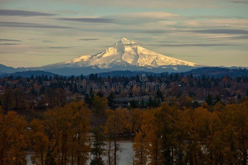 Download Mount Hood stock image. Image of hood, mountain, distance - 13895415