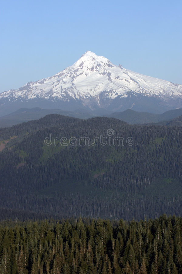 Download Mount Hood. stock image. Image of hill, foothills, slopes - 139019