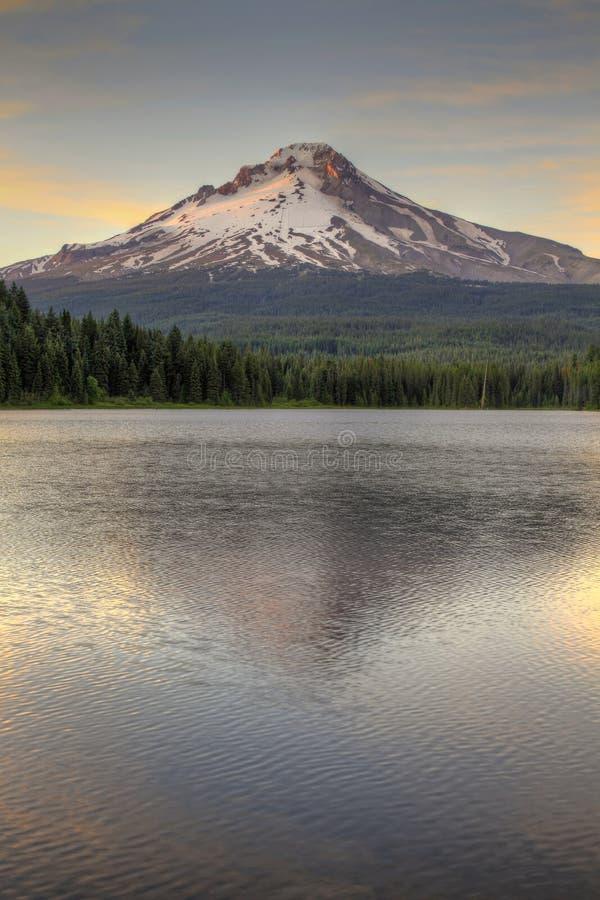 Free Mount Hood At Trillium Lake 2 Royalty Free Stock Photos - 15327158