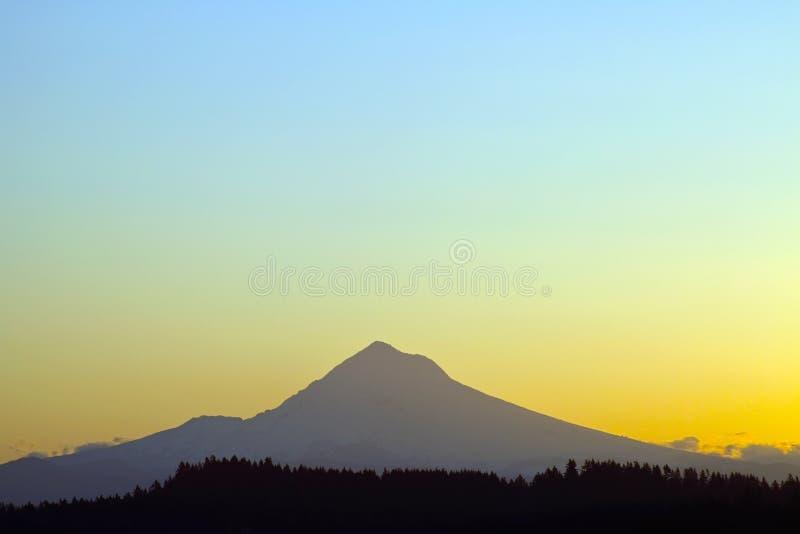 Mount Hood at Sunrise 3 royalty free stock photos