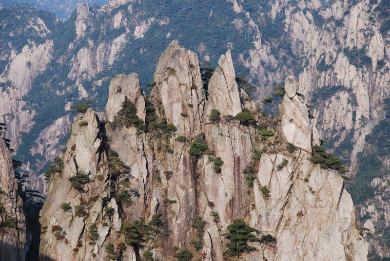 Mount Huangshan scenery royalty free stock photo