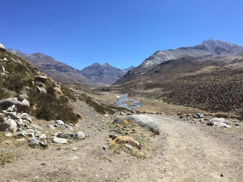 Mount Kailash Kora весной в Тибете в Китае стоковые фото