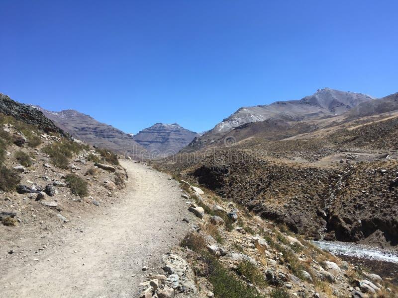 Mount Kailash Kora весной в Тибете в Китае стоковое изображение
