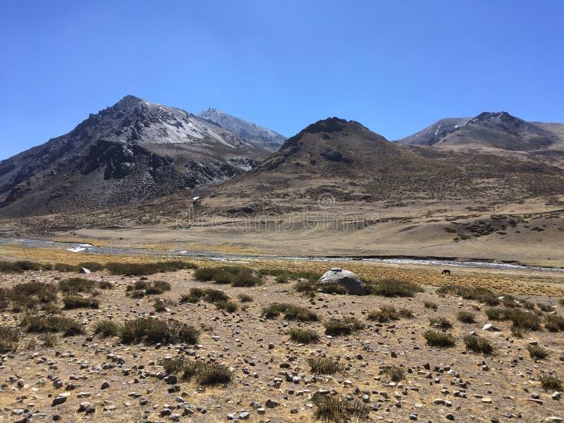Mount Kailash Kora весной в Тибете в Китае стоковые изображения