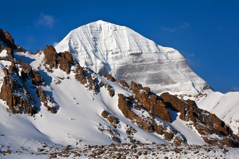 Mount Kailash Tibet royaltyfri foto
