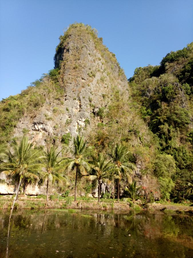 Mount Karst Rammang-rammang Makassar royalty free stock photos