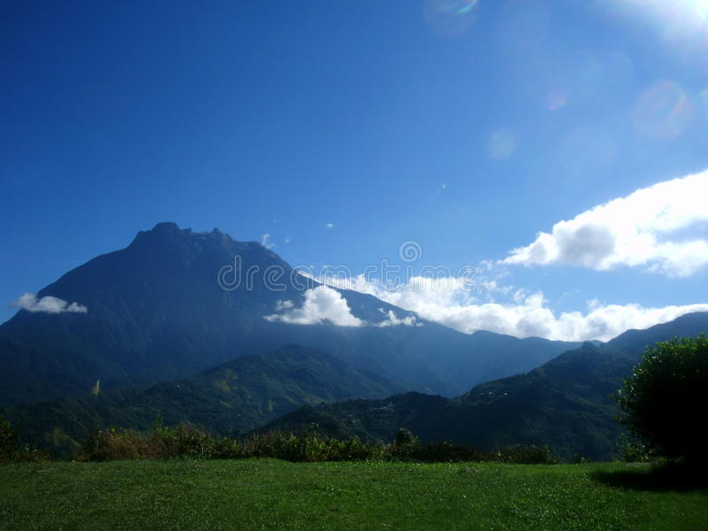 Mount Kinabalu Борнео стоковые изображения rf