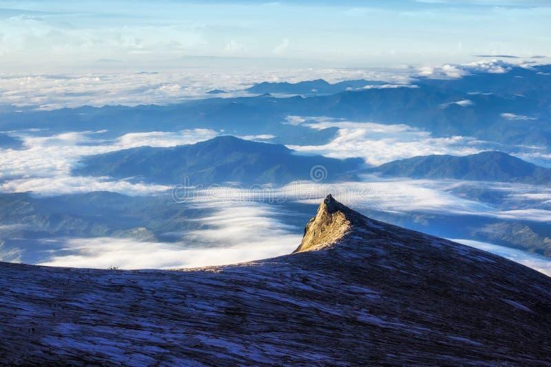 Mount Kinabalu in Sabah, Borneo, East Malaysia stock photo