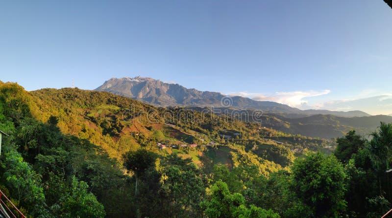Mount Kinabalu Sabah arkivfoton