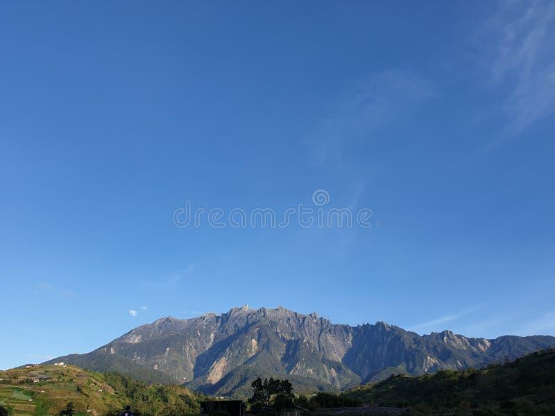 Mount Kinabalu View, Sabah, Borneo, Malaysia stock images