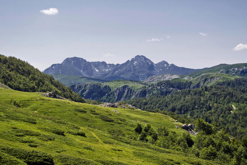 Mount Komovi royalty free stock photography
