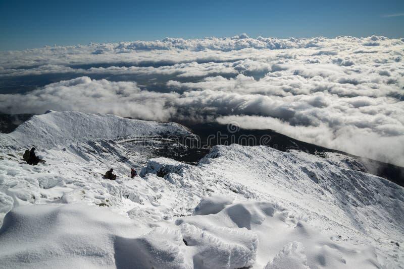 Mount Krivan peak royalty free stock photography