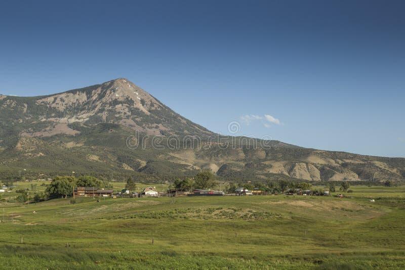 Mount Lamborn panoramic view royalty free stock photos