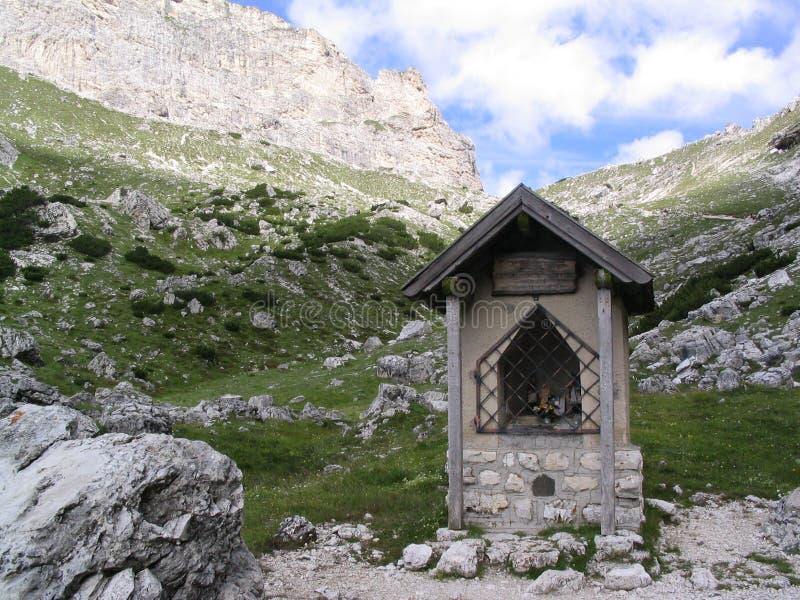 mount małej kaplicy obrazy royalty free