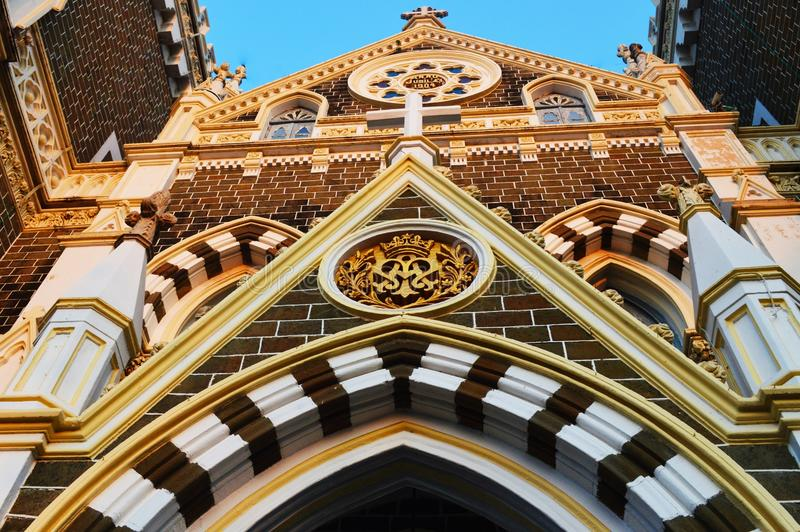 Mount Mary church mumbai stock photography